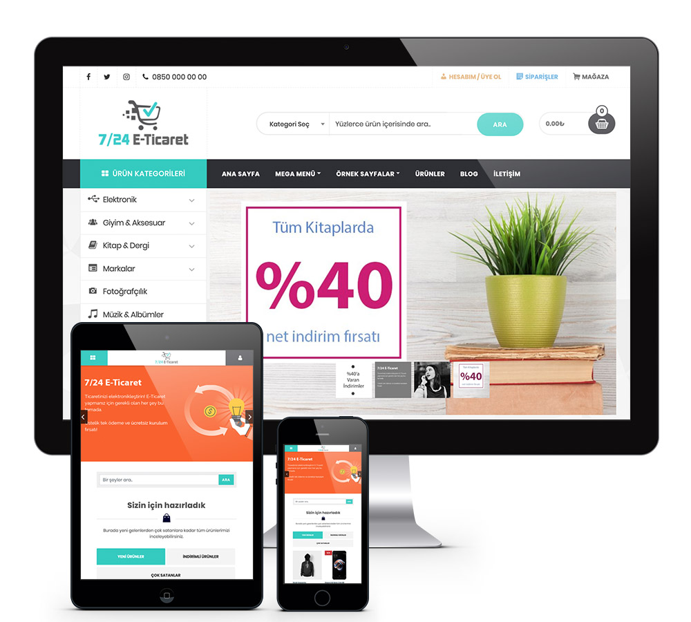 wordpress eticaret tema
